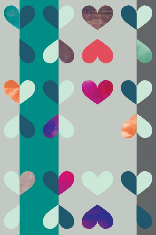 Teal Purple Removable wallpapers on wwwtimothysuecom Teal Purple 533x800