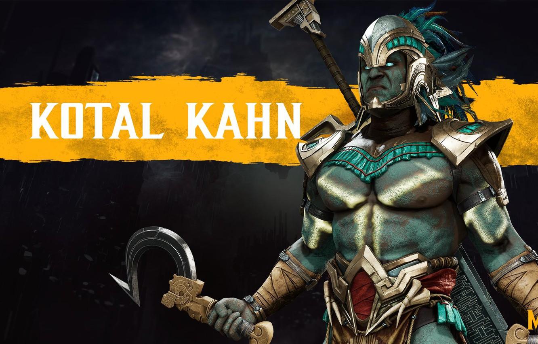 Wallpaper fighter Mortal Kombat MK11 NetherRealm Studios Kotal 1332x850