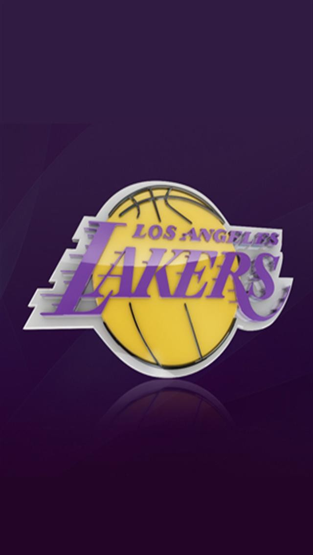 lakers iphone wallpaper los angeles lakers logo wallpaper wallpapersafari 12560
