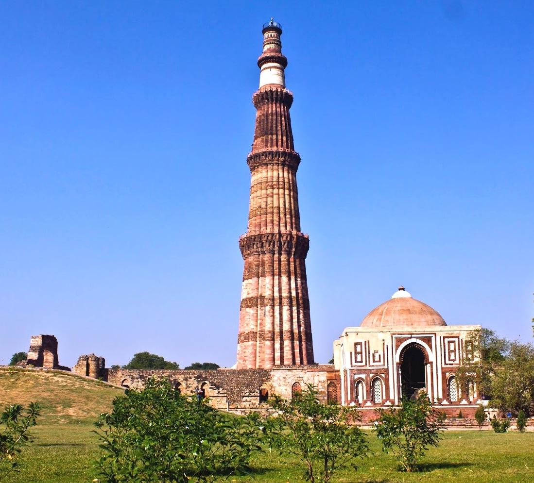 Qutub Minar New Delhi Full View Wallpaper 28424   Baltana 1099x995