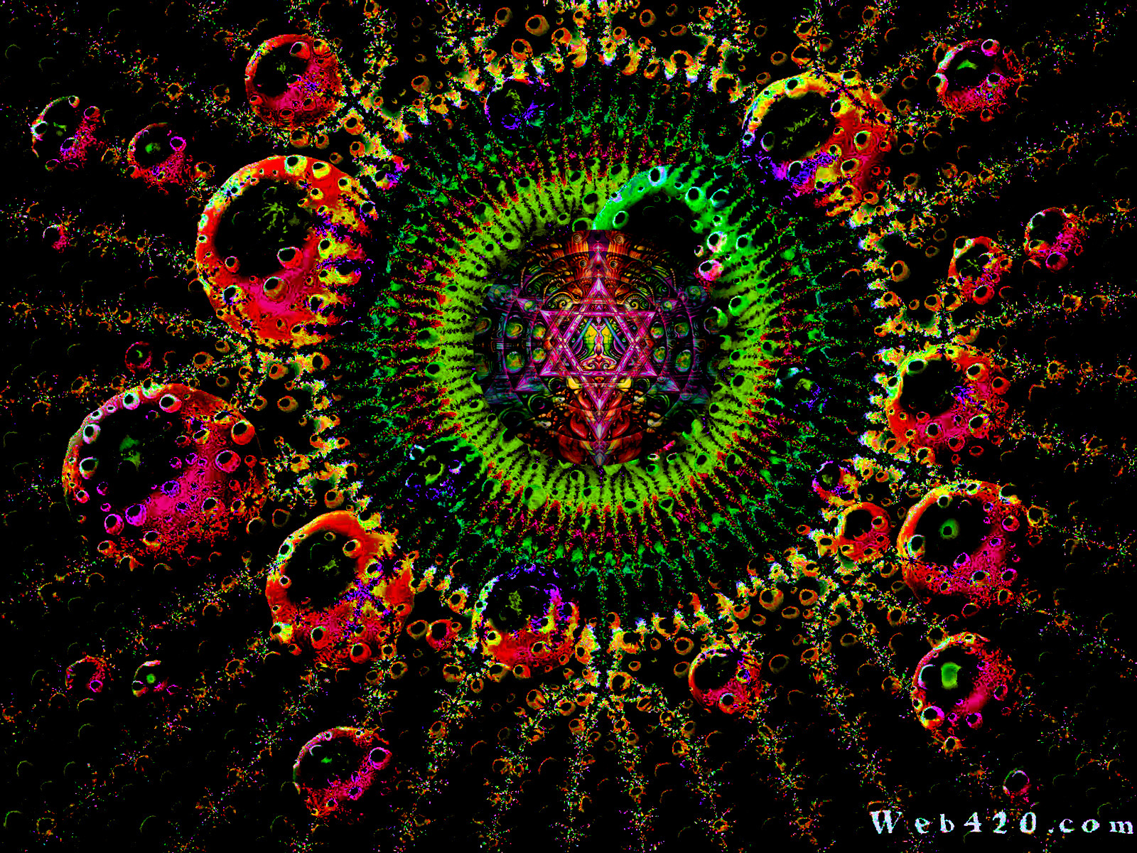 Psychedelic Wallpaper 1600x1200 Psychedelic 1600x1200