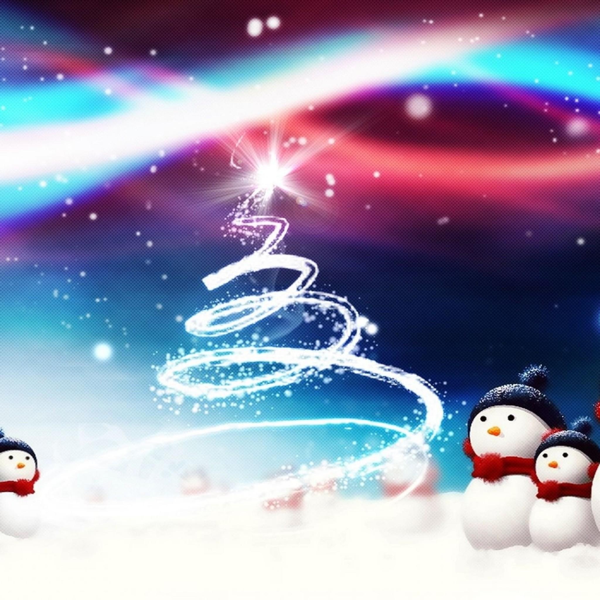 New IPad HD Christmas Wallpaper
