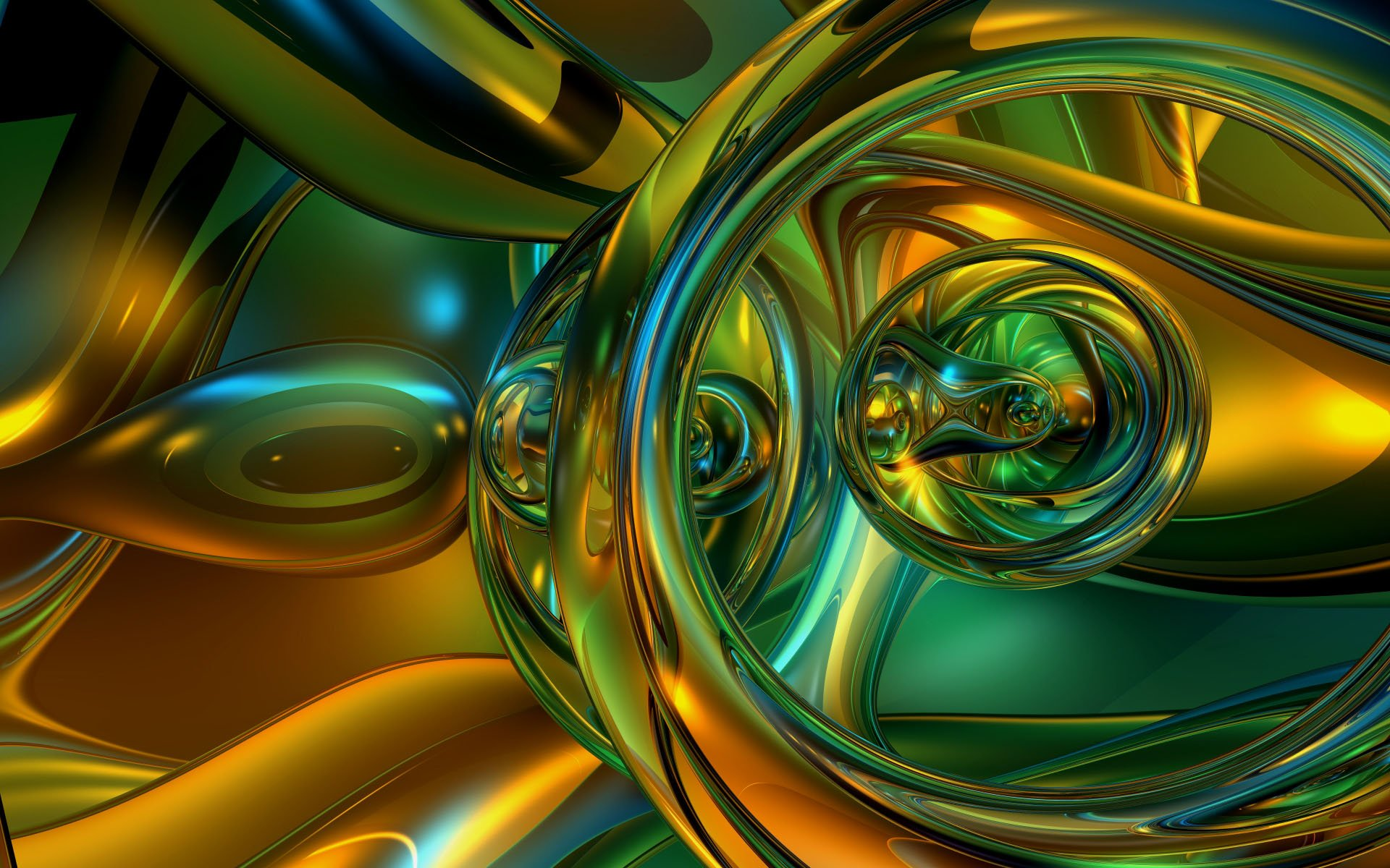 Wallpaper   Wallpaper abstract 3d animaatjes 27 1920x1200