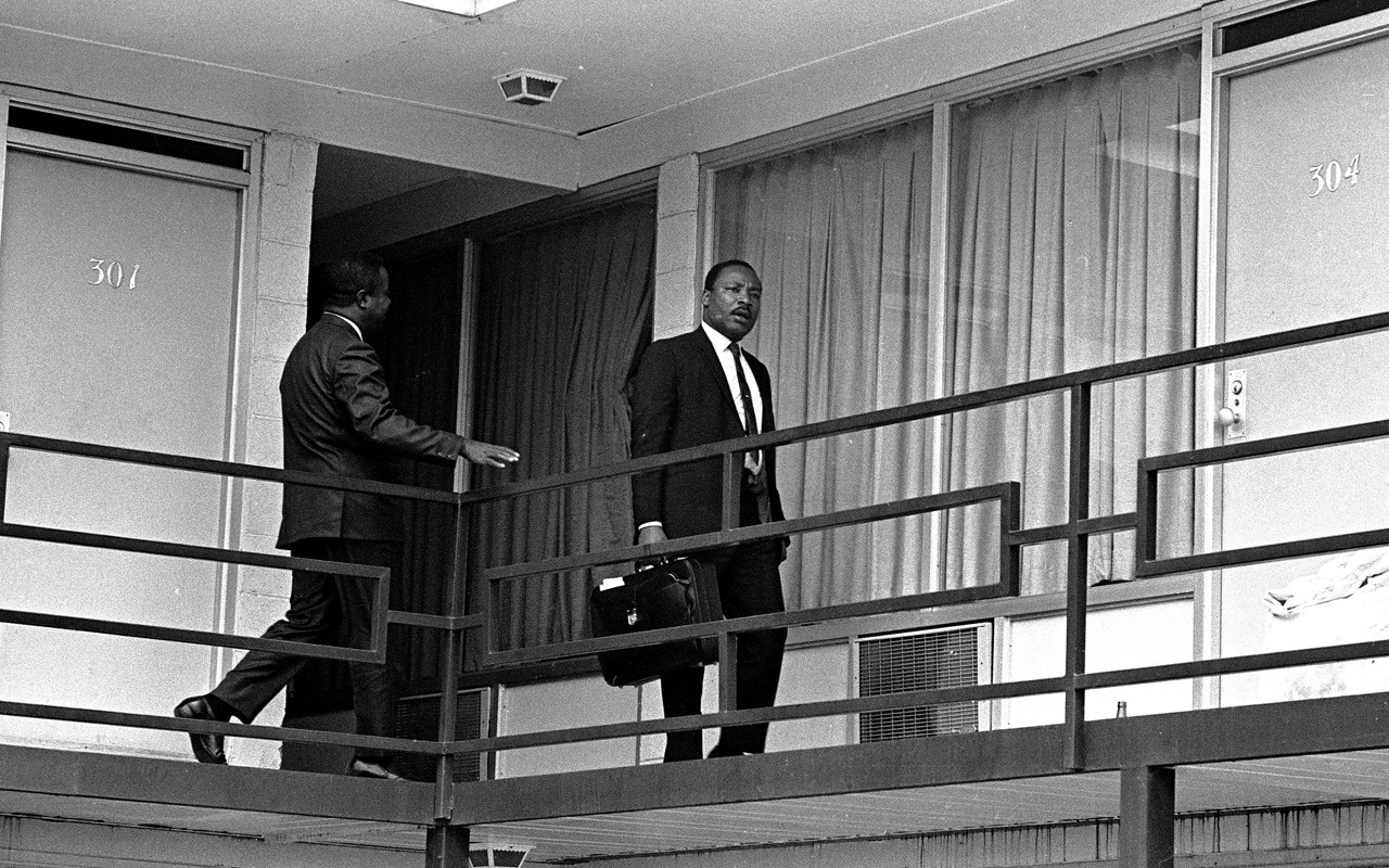 Dr Martin Luther King Jrs Assassination Rare Images from the 1280x800