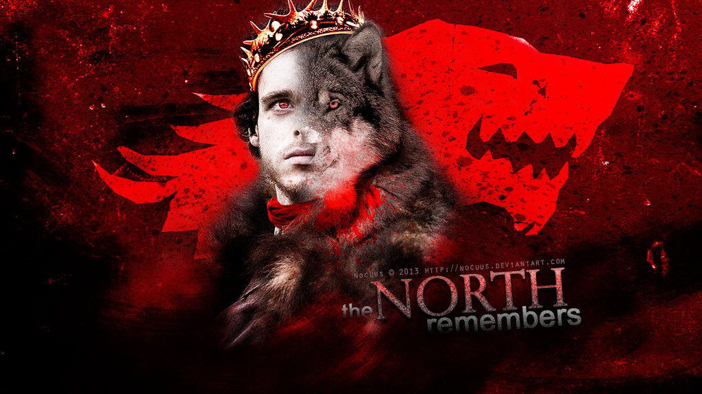the north remembers by nocuus fan art wallpaper books novels 1024x576