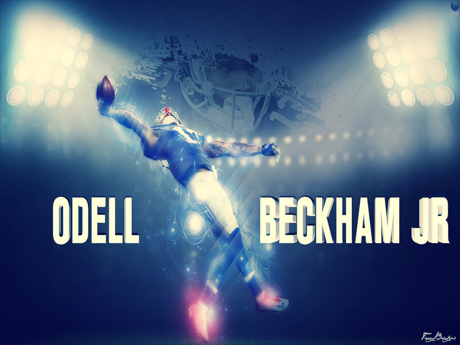 The Big Catch Odell Beckham Jr by NO LooK PaSS 900x675