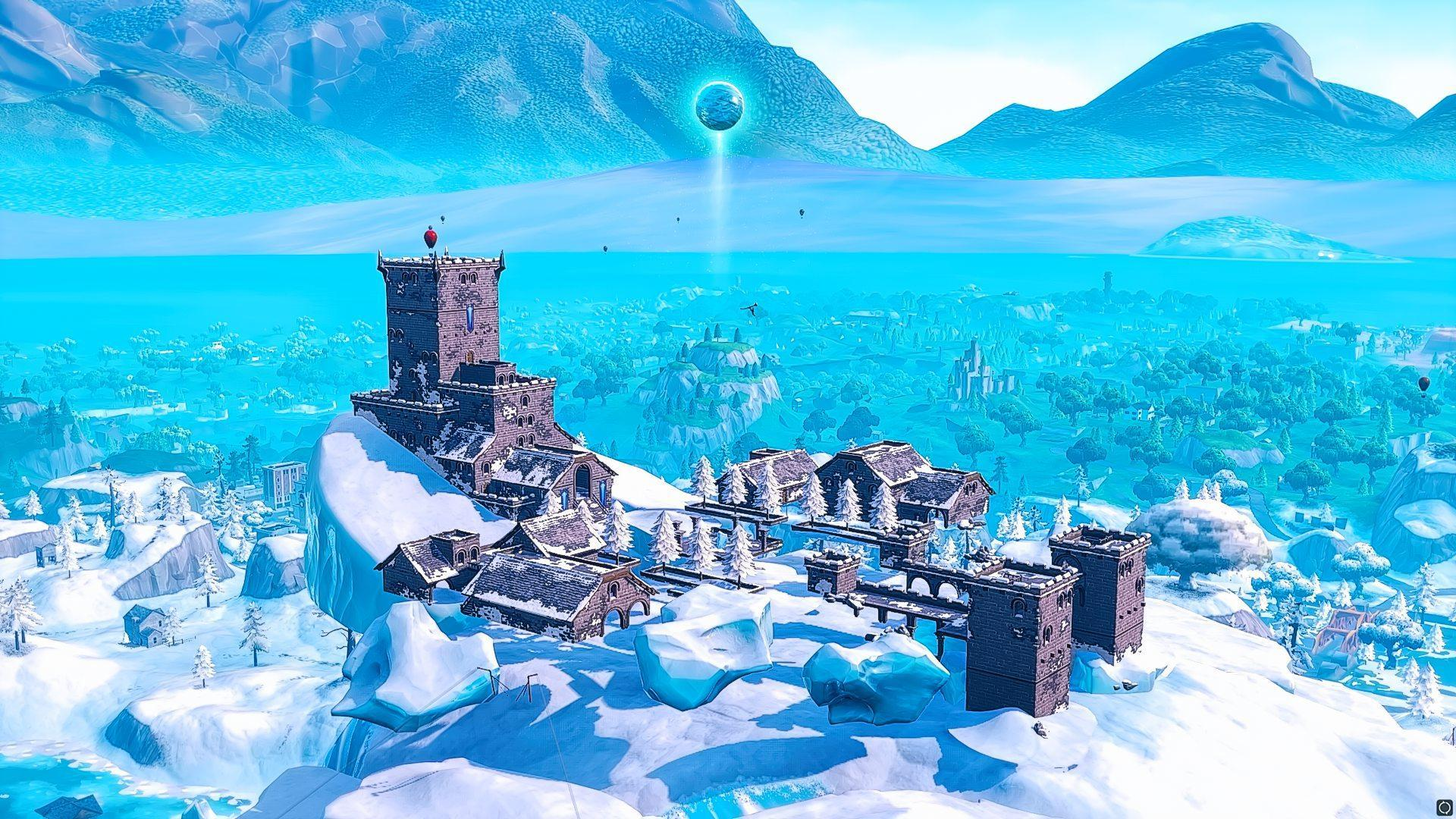 Fortnite Has An Ice Ball At Polar Peak Ice Storm Event Files 1920x1080
