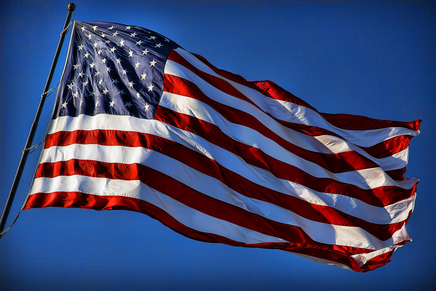 United Photograph   United States Of America   Usa Flag by Gordon Dean 900x600