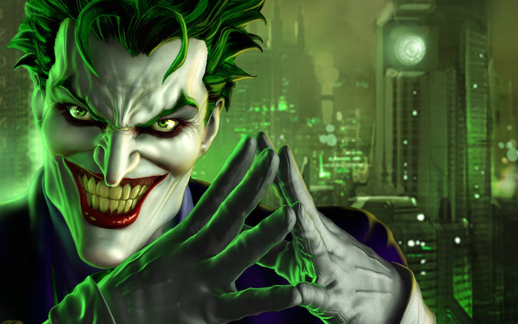 Download Joker   DC Universe wallpaper 1680x1050