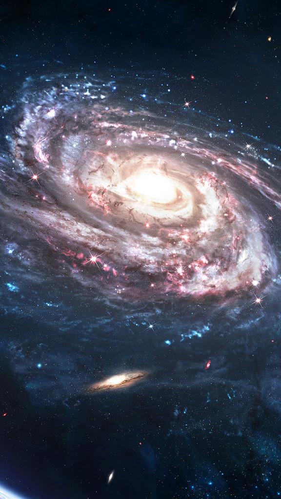 Milky Way Galaxy Wallpapersat 576x1024