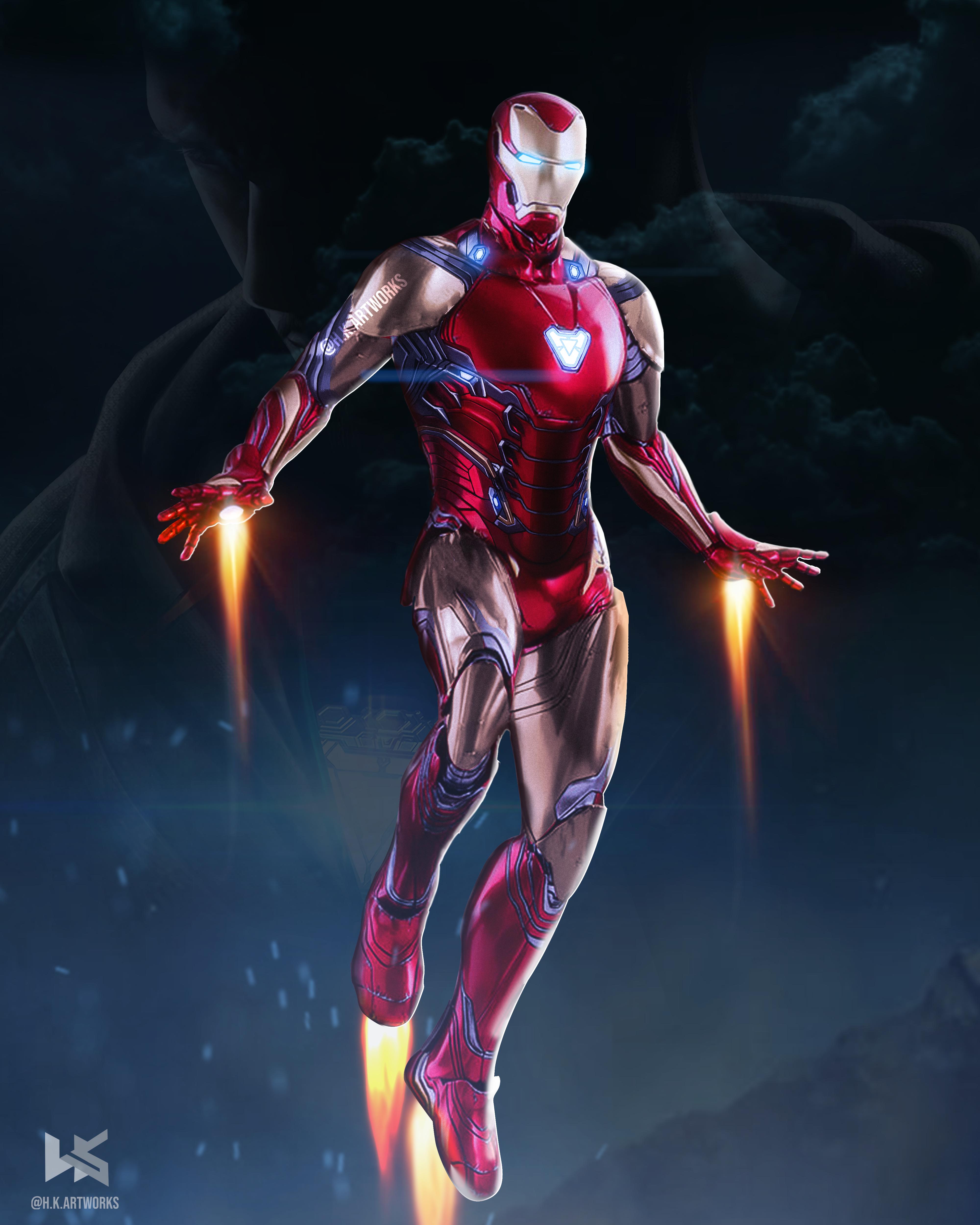 Iron man Mark 85 art By hkartworks Marvel Iron Man 4000x5000