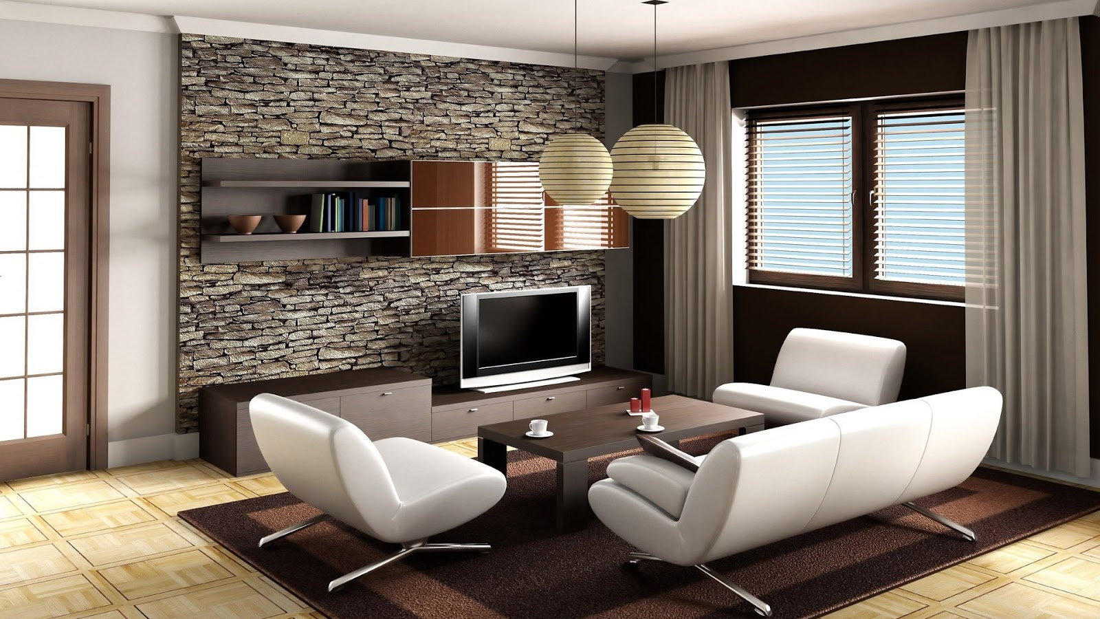 Mystery Wallpaper Cool Living Room 1600x900
