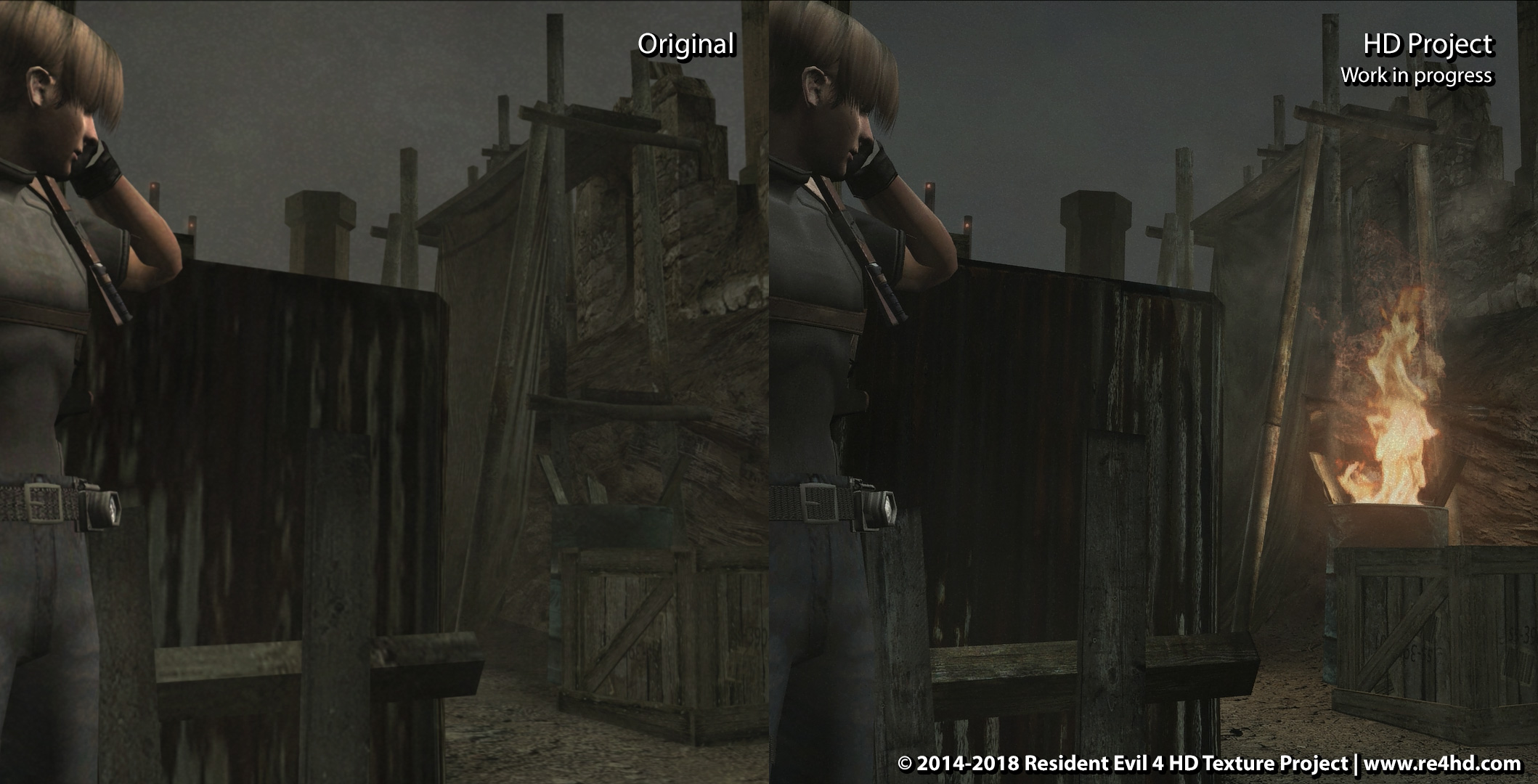 Resident Evil 4 HD Project The Complete HD Remaster of Resident 2118x1080