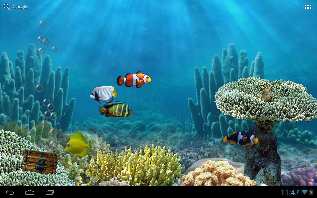Aquarium Live Wallpaper Apps para Android no Google Play 1280x800
