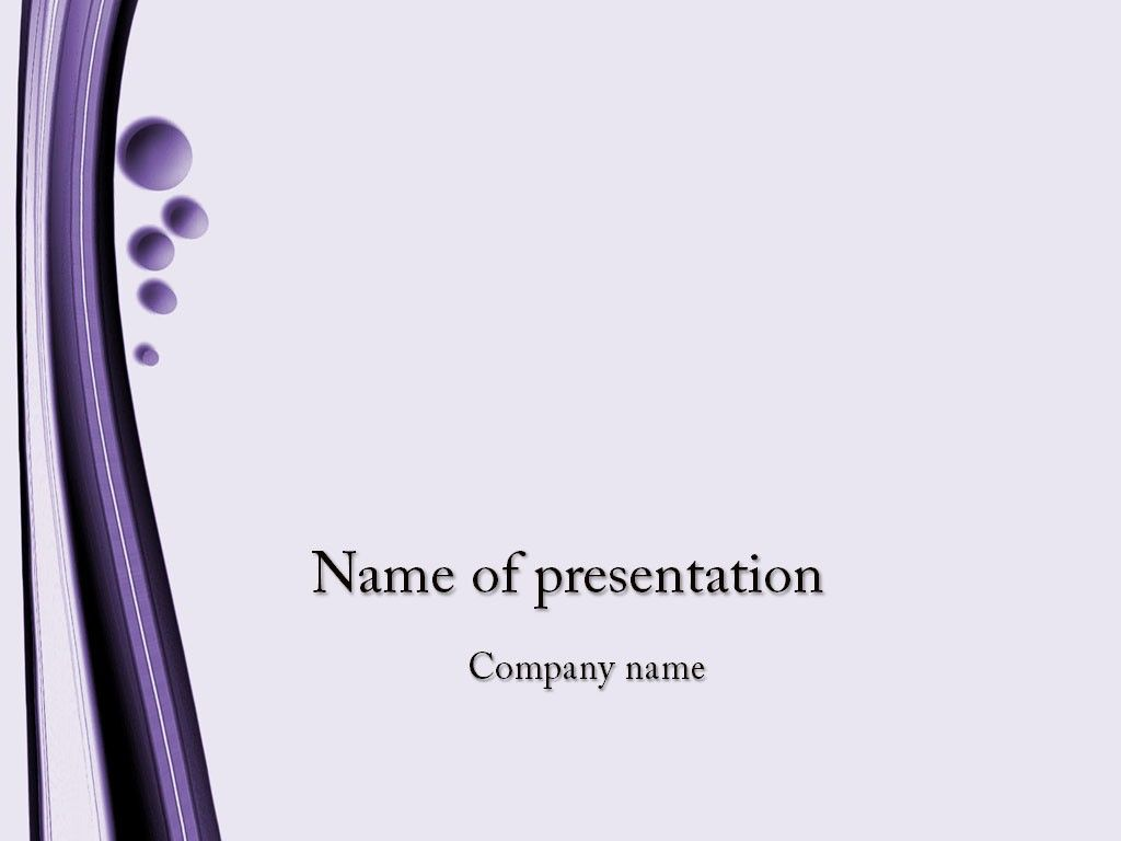 Violet PowerPoint Template z Powerpoint template 1024x768