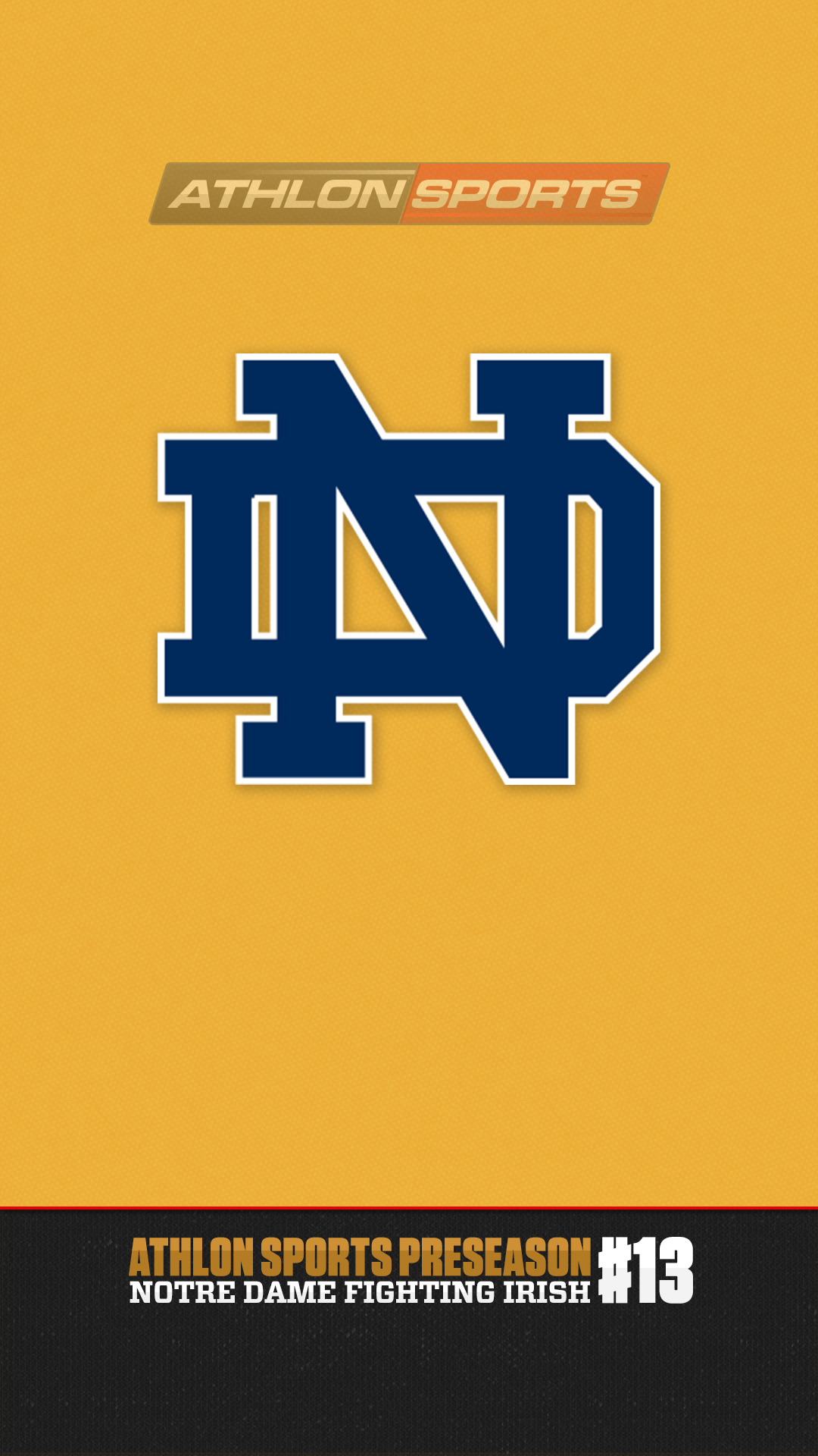 2014 College Football Rankings 13 Notre Dame AthlonSportscom 1080x1920