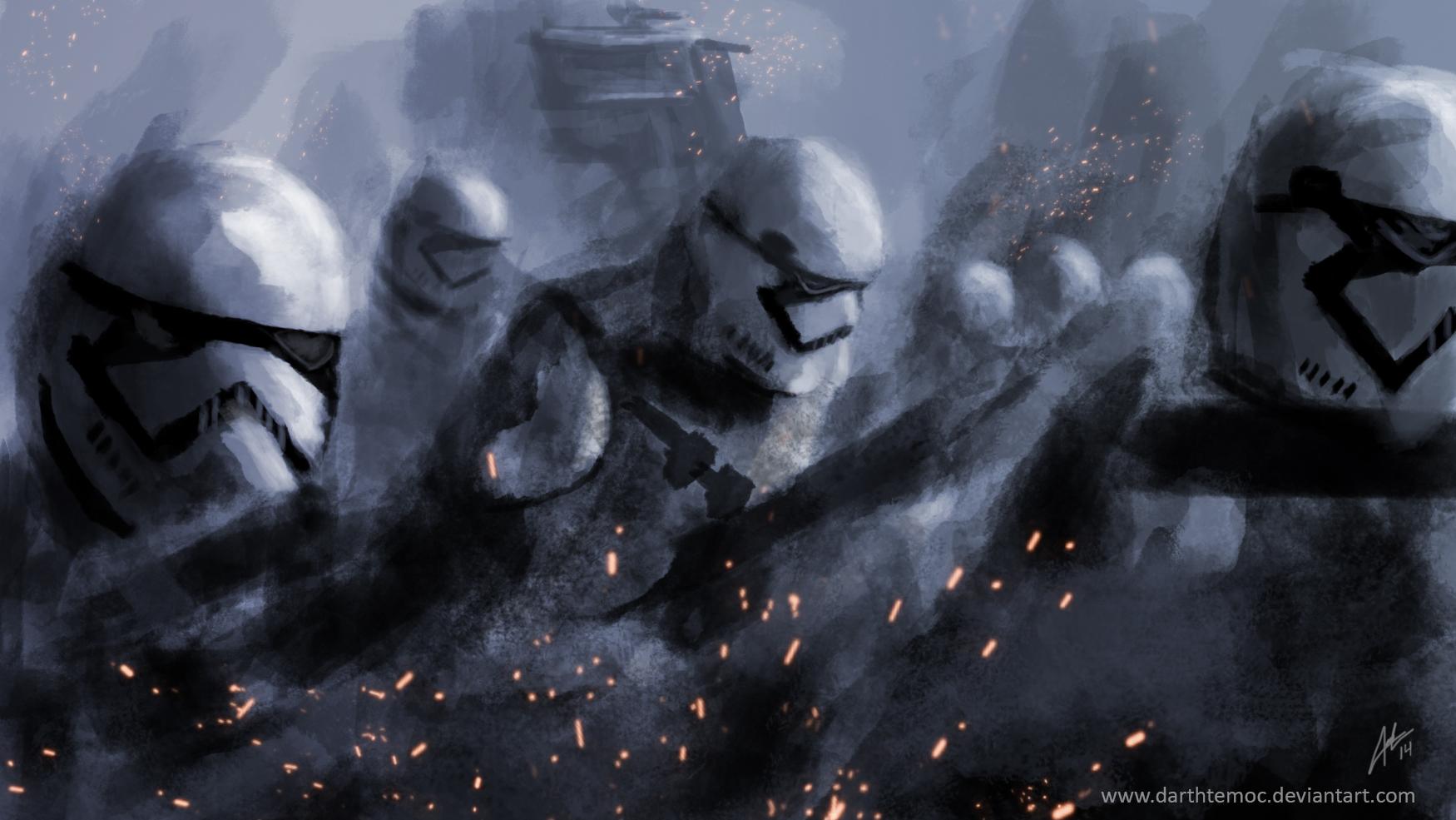 48 Force Awakens Stormtrooper Wallpaper On Wallpapersafari