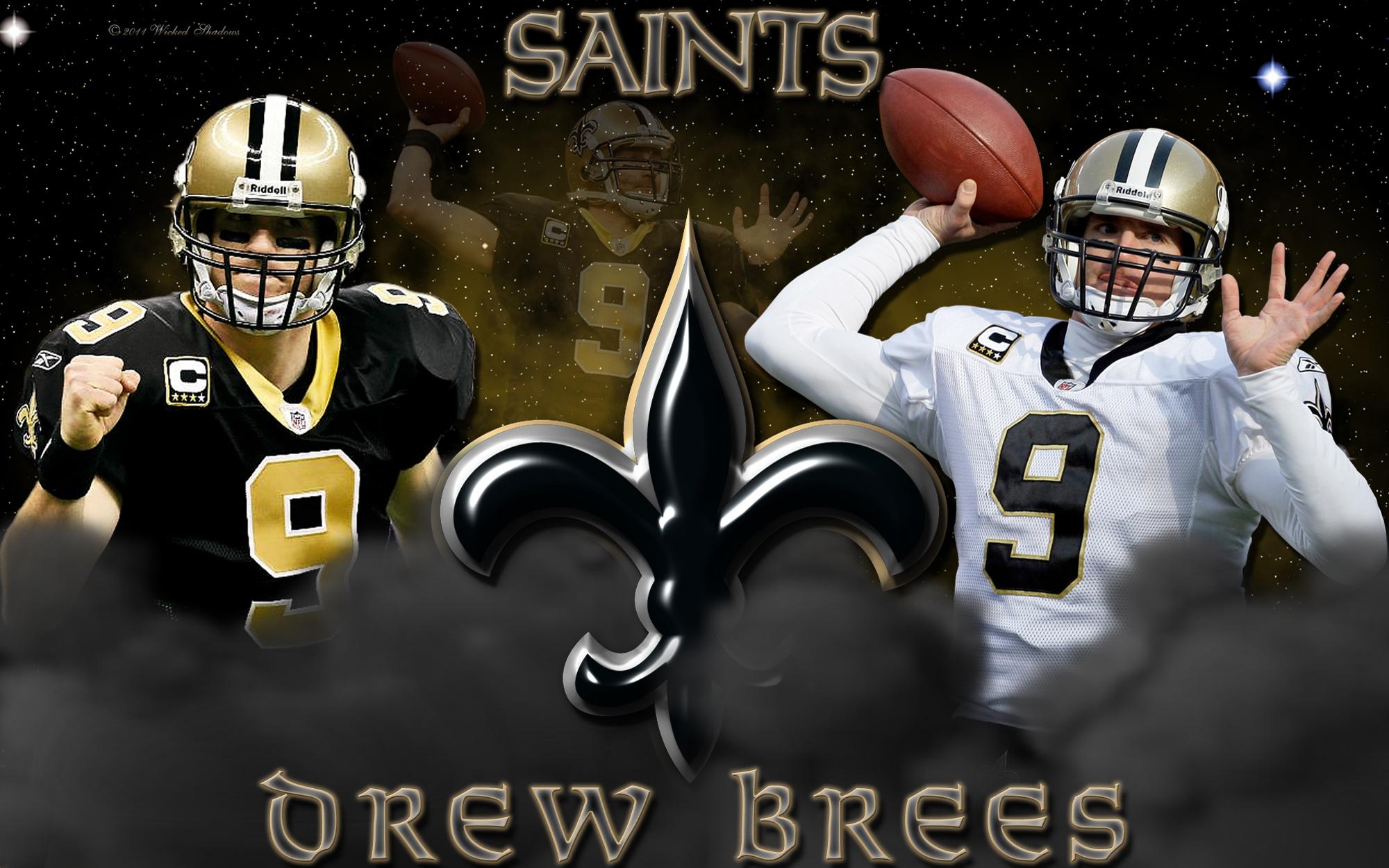 Drew Brees New Orleans Saints Wallpaper