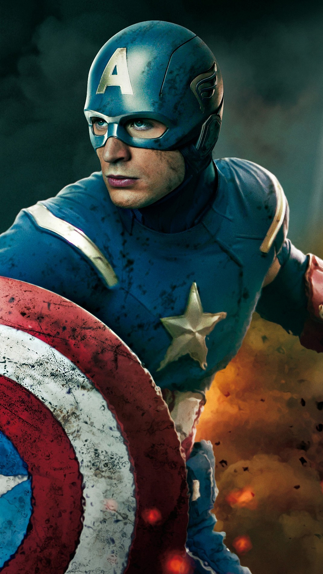 HD captain america wallpaper for iPhone 6 6s plus 1080x1920