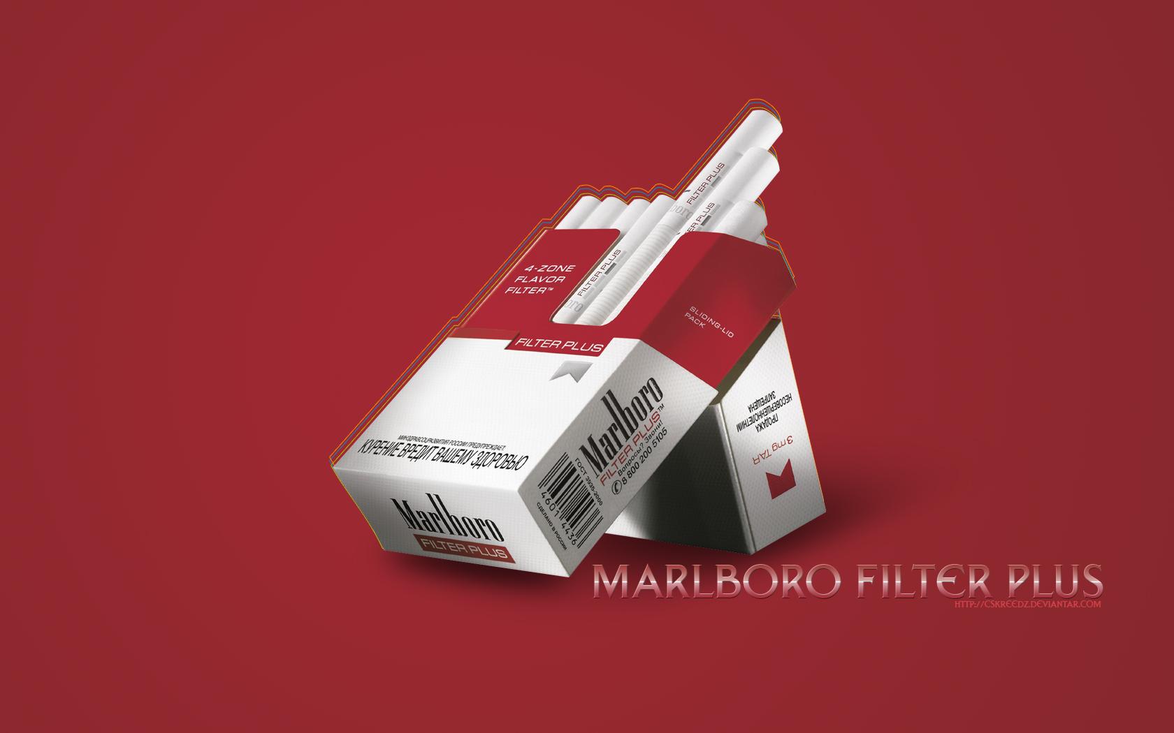 wallpaper marlboro filter plus by CsKreedz 1680x1050