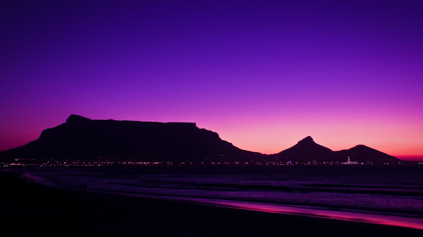 Table Mountain Wallpaper HD   New HD Images 1366x768