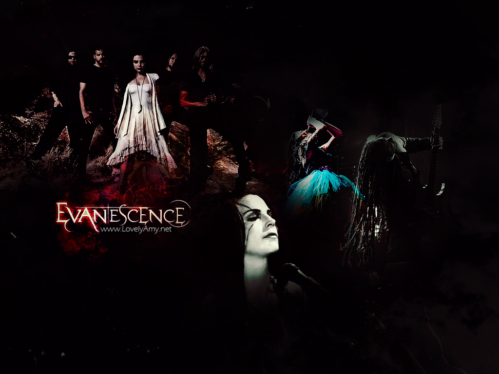 Dark Evanescence Wallpaper by princesiitha 1024x768