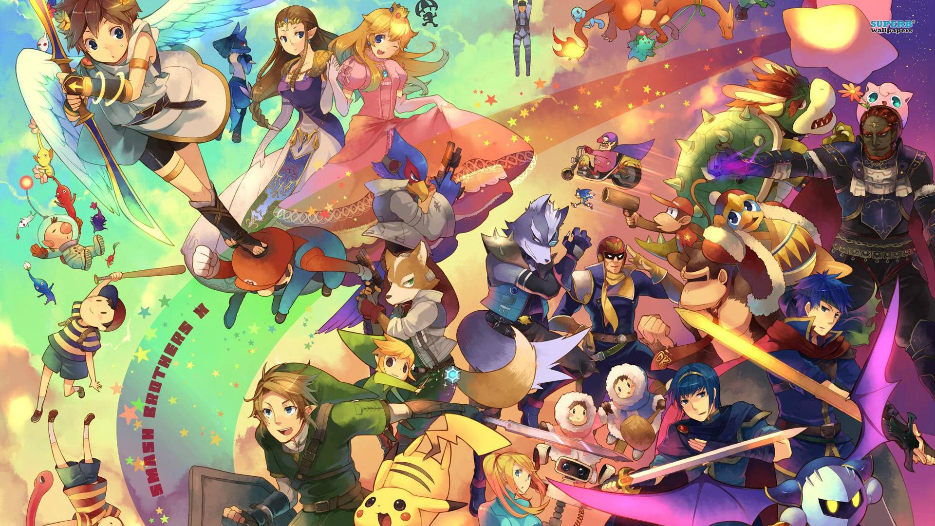 <b>Smash Bros</b> iPhone <b>Wallpaper</b> - WallpaperSafari