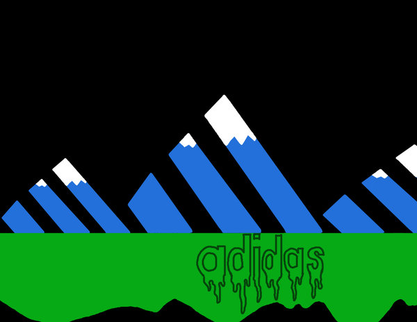Adidas Mountain Slime by Conner1337 600x464