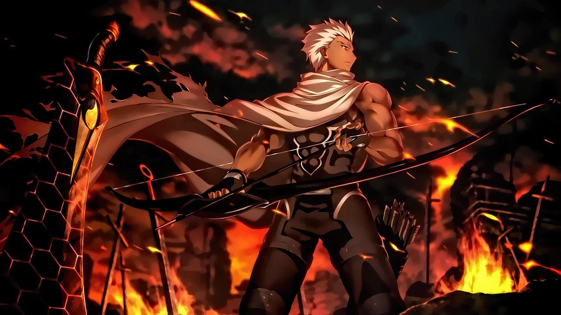 Archer Fate Stay Night Wallpapers   Top Archer Fate Stay 1920x1080