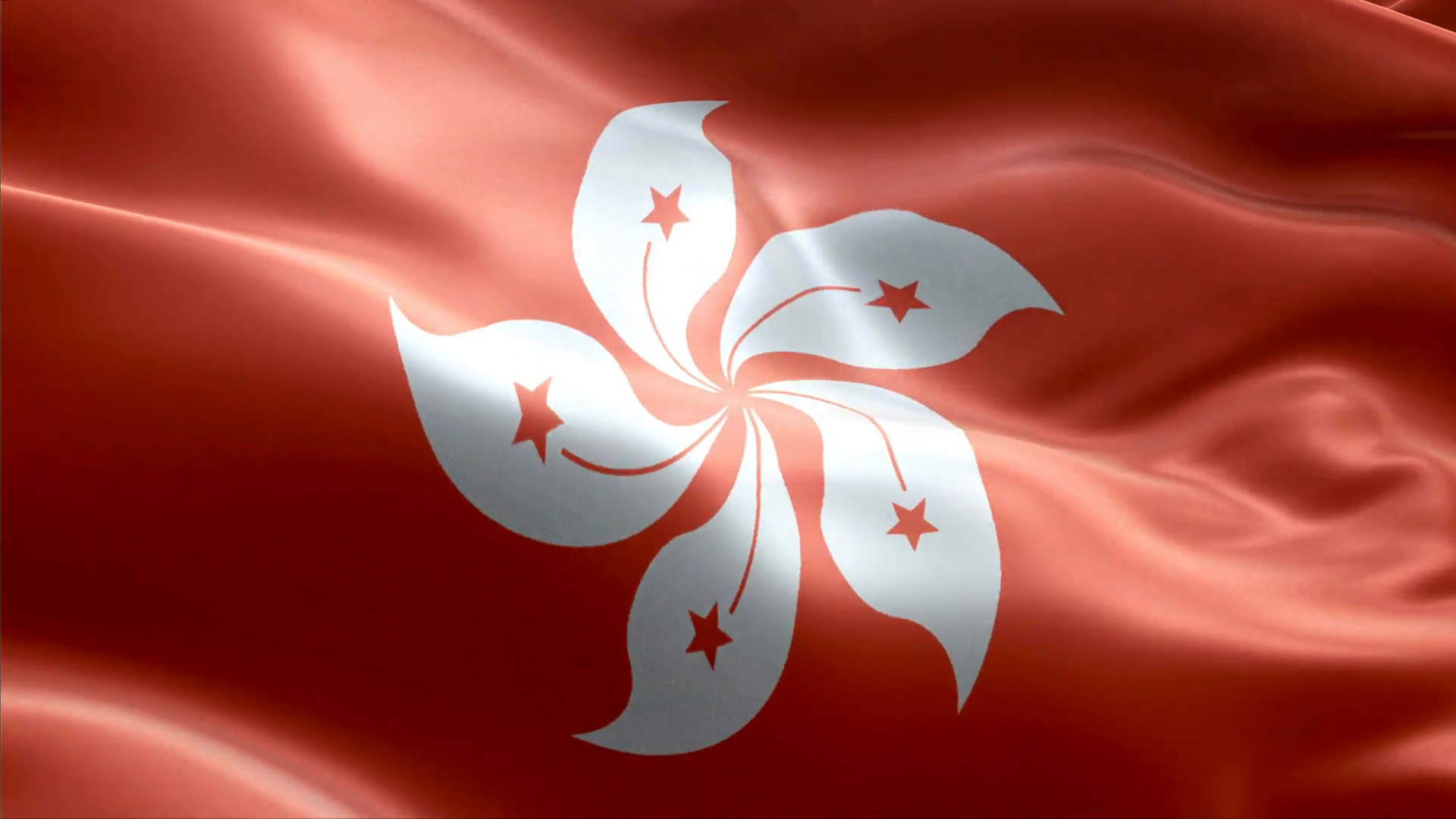 Country Flag Hong Kong Motion Background   Storyblocks Video 1920x1080