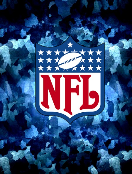 NFL   Blue Logo Wallpaper for Amazon Kindle Fire HD 7 450x590