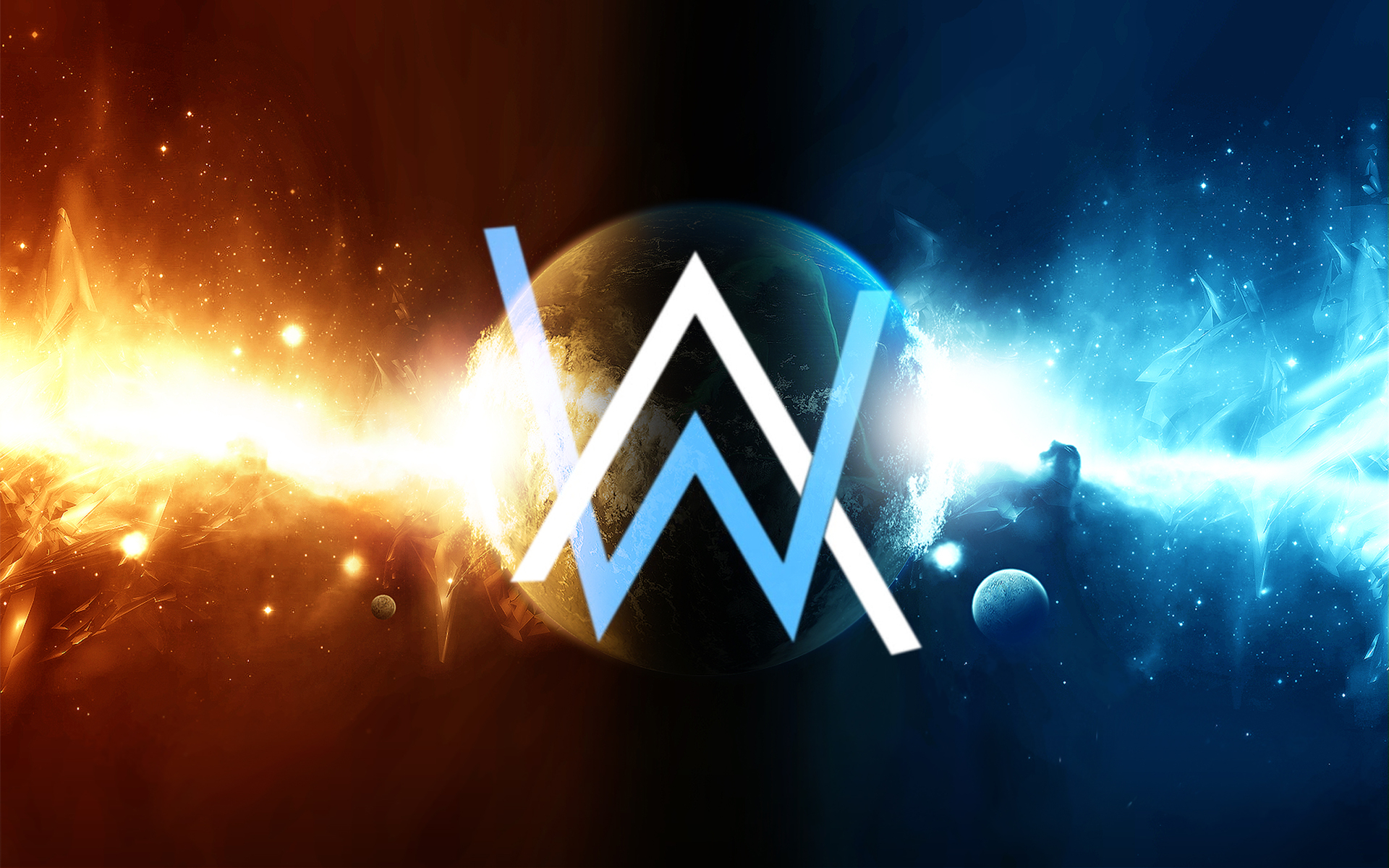 Alan Walker Logo Wallpapers 1920x1200