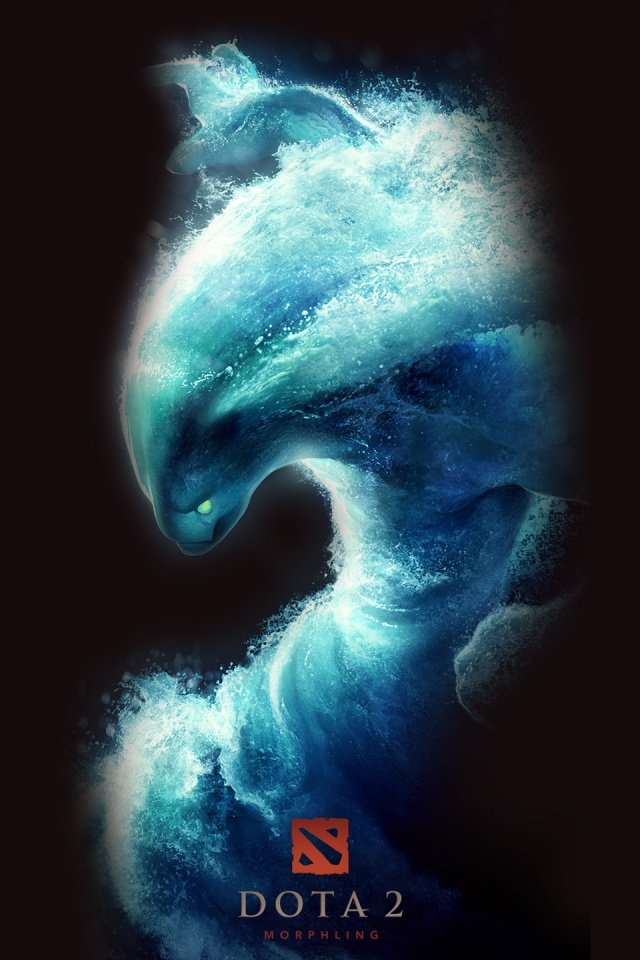 640x960 DOTA 2   Morphling Iphone 4 wallpaper 640x960