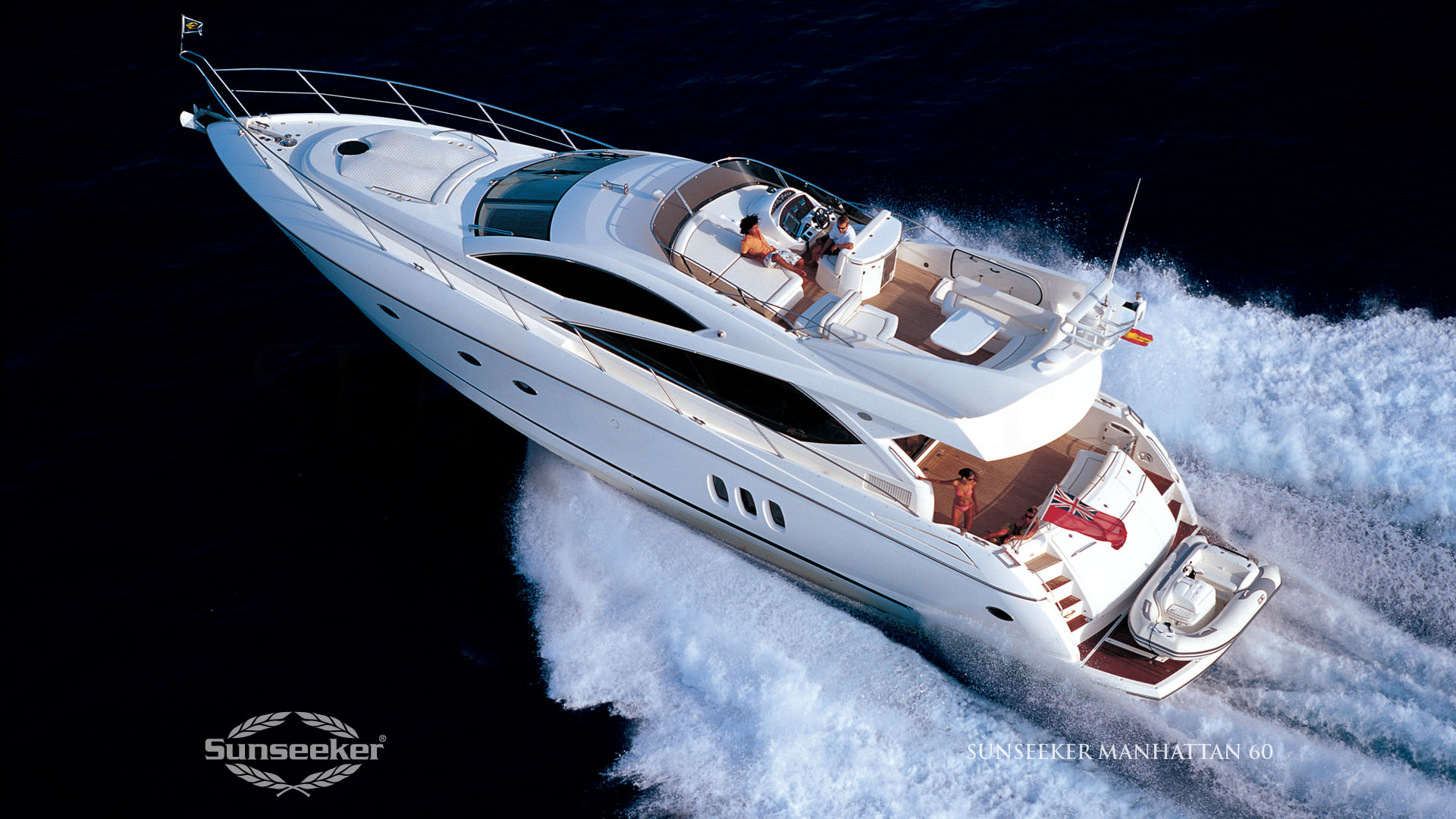 Sunseeker Manhattan 60 Luxury Yacht 1920x1080 HD Image Brands Ads 1920x1080