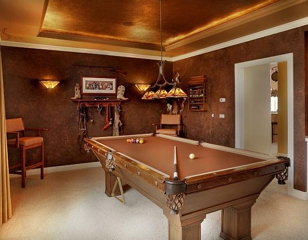 Regal Leather Walls That Put Wallpaper To Shame2014 interior Design 600x467