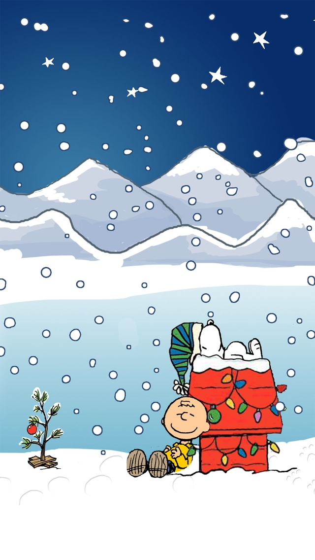 Peanuts Snoopy Cartoon Wallpaper Image for iPhone ... |Peanuts Phone Wallpaper