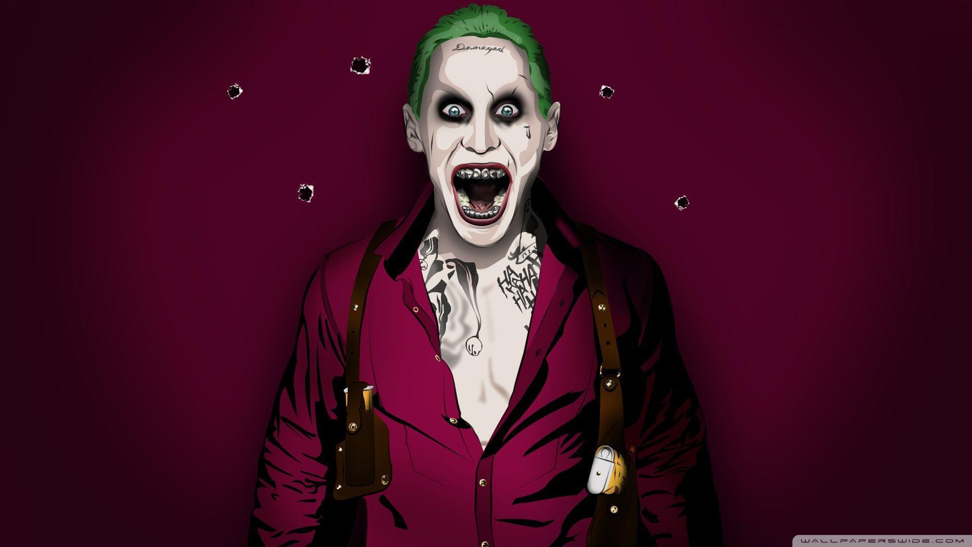 Jared Leto Joker Wallpapers 1920x1080