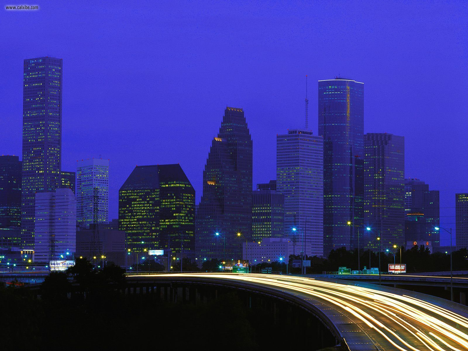 Houston Texas Buildings City 1600x1200