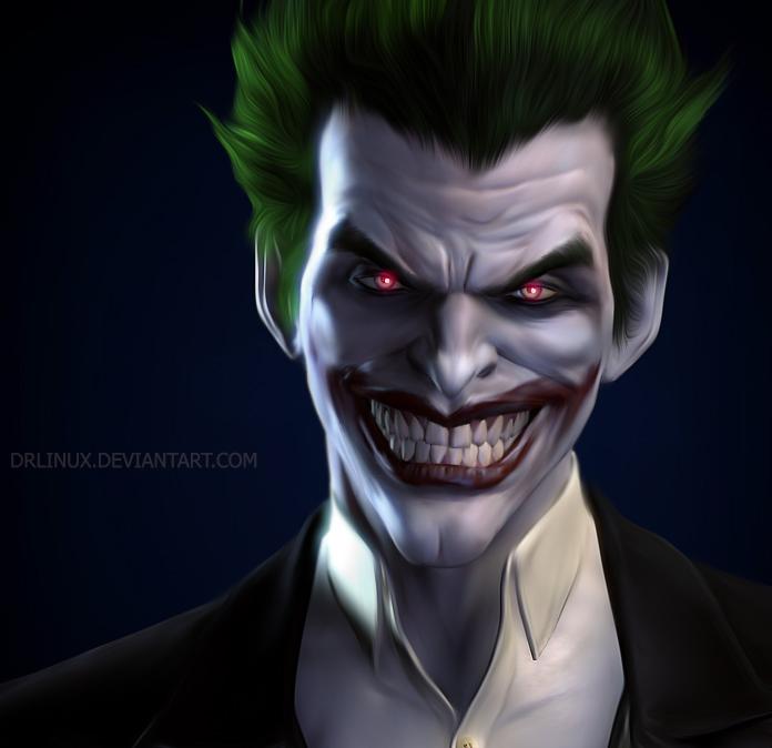 Joker Arkham Origins by DrLinuX 696x674