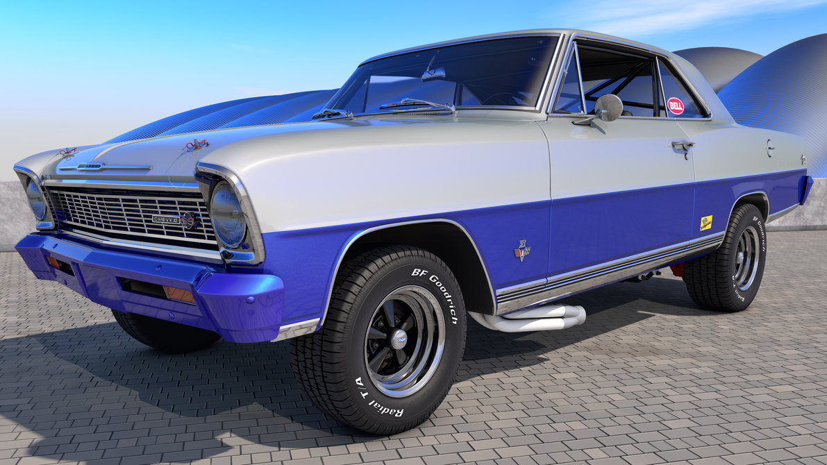 1966 chevy nova ss by samcurry on deviantart