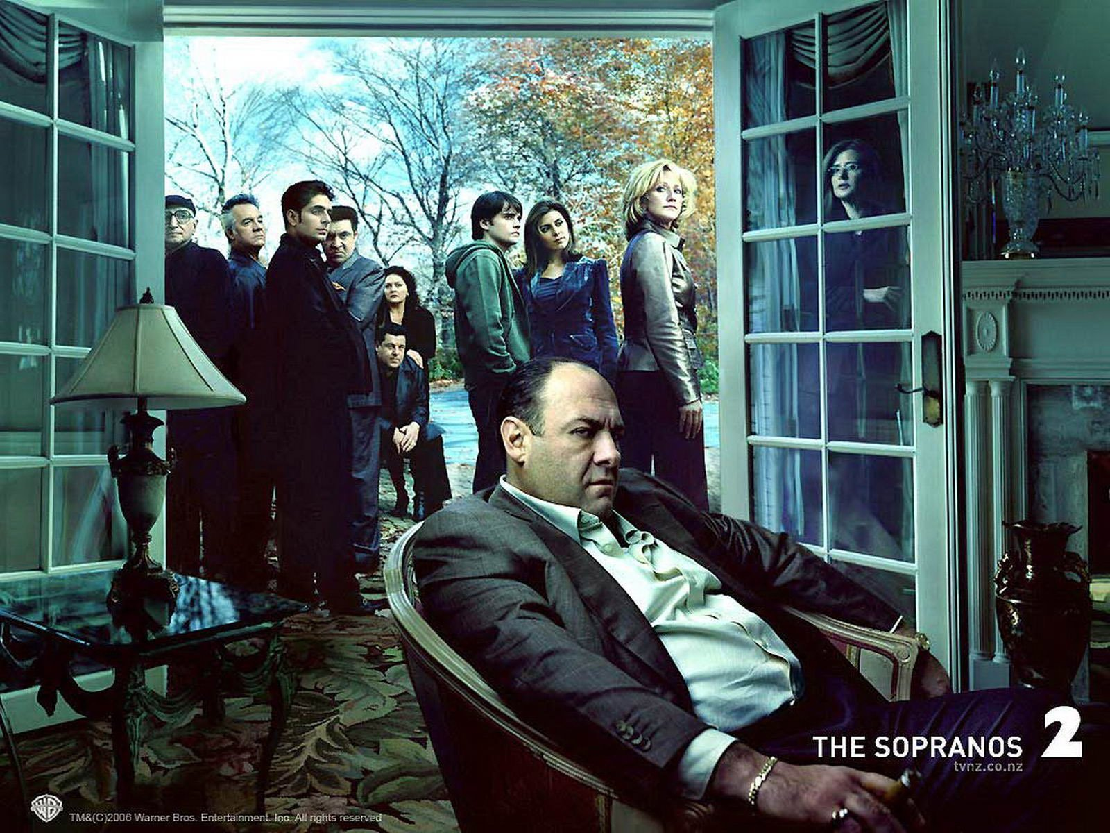 Tony soprano wallpaper wallpapersafari - Sopranos wallpaper ...