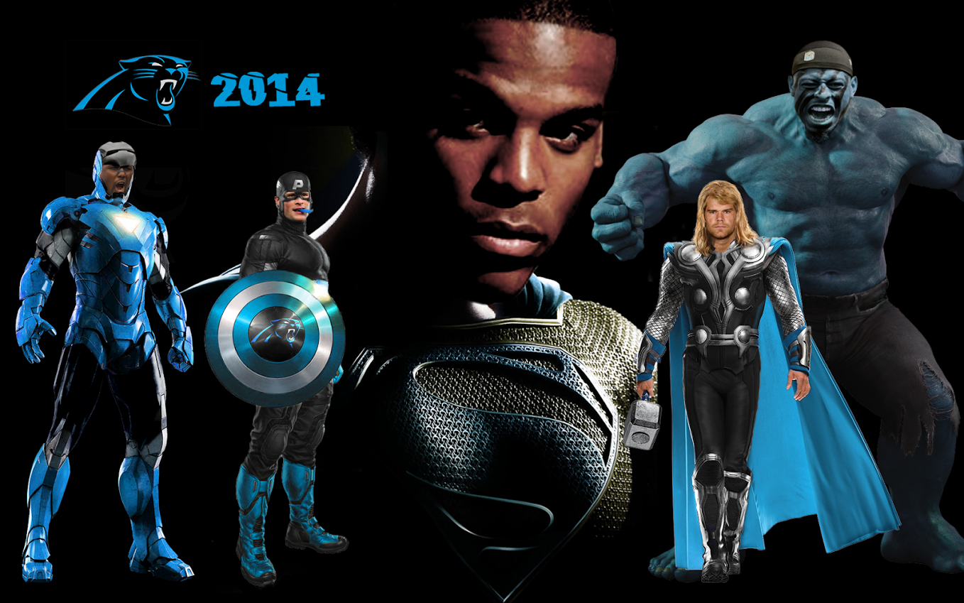 2014 Panthers   Superhero Style   Cat Scratch Reader 1358x849