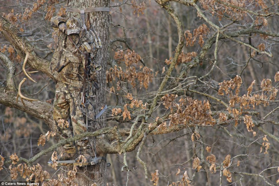 The human Predators Hunter designs camouflage suits that make wearers 964x641