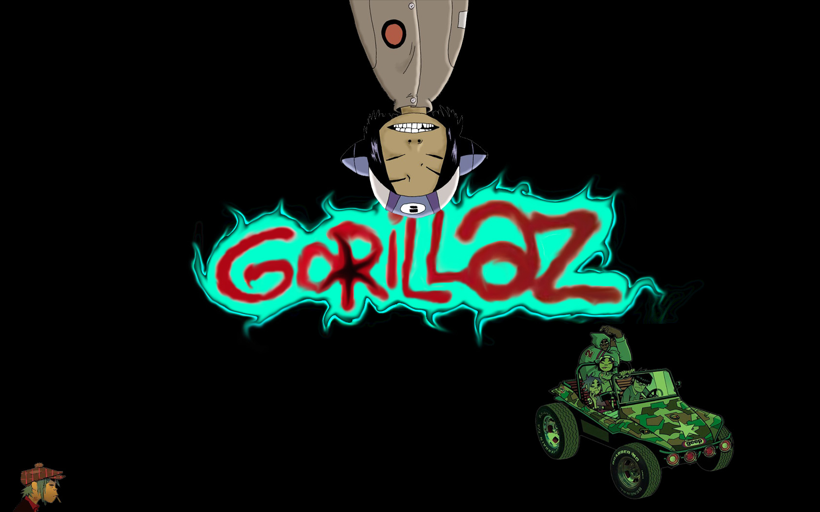Gorillaz Wallpaper Android - WallpaperSafari