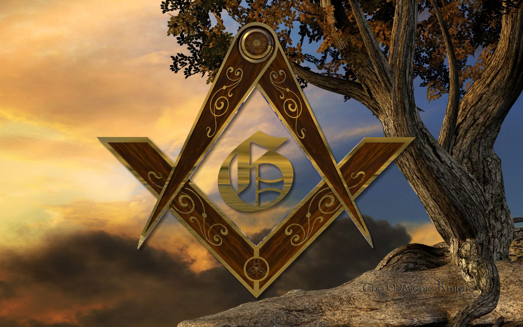 masonic wallpaper mckim clipart freemason templar art image 1680x1050