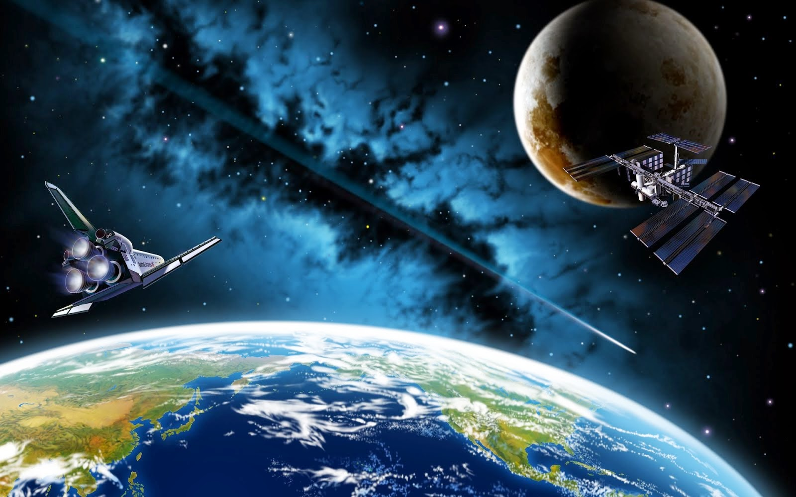 high resolution space desktop backgrounds Car Tuning 1600x1000