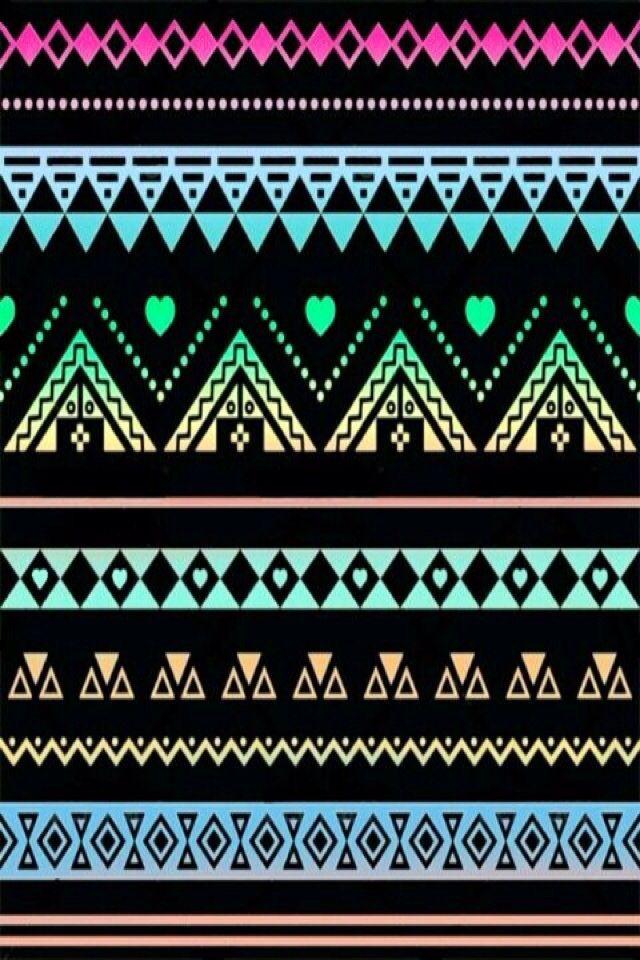 iPhone Wallpaper AztecTribal tjn iPhone Walls 1 640x960