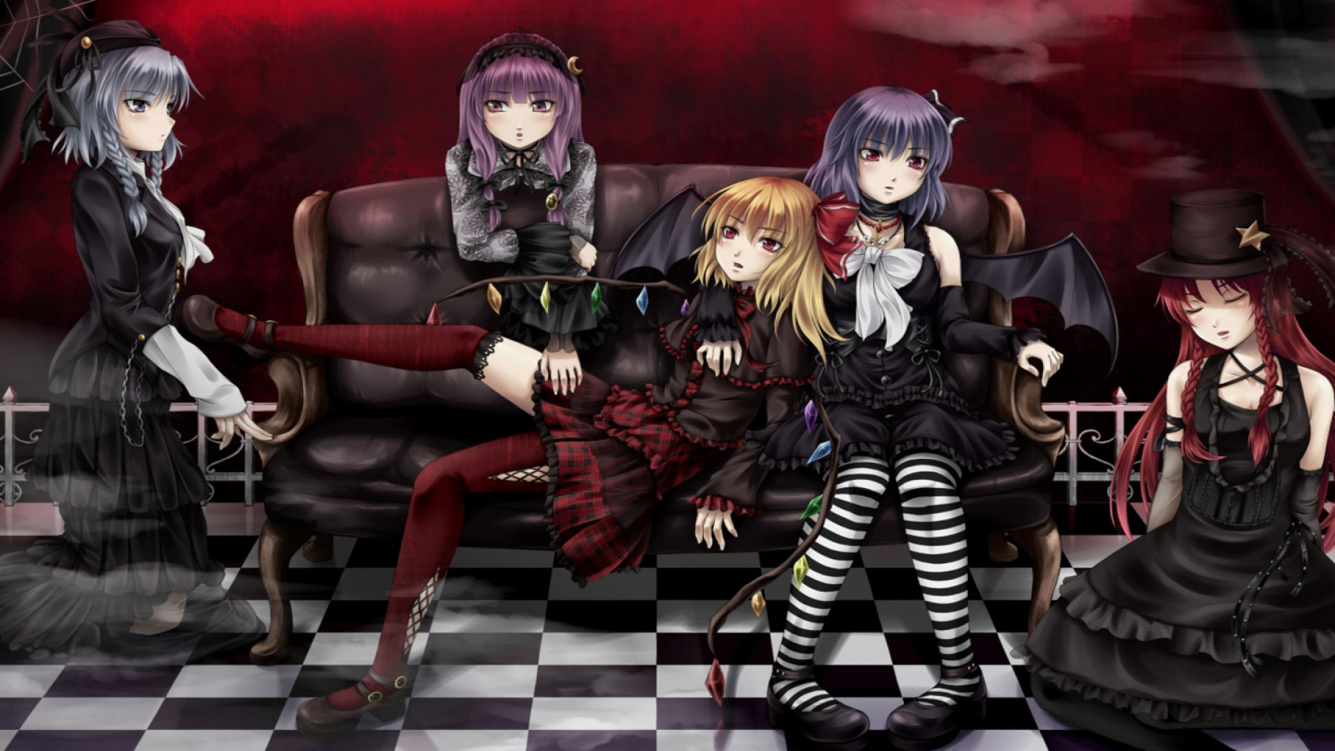 Photo Collection Gothic Anime Girls Wallpapers