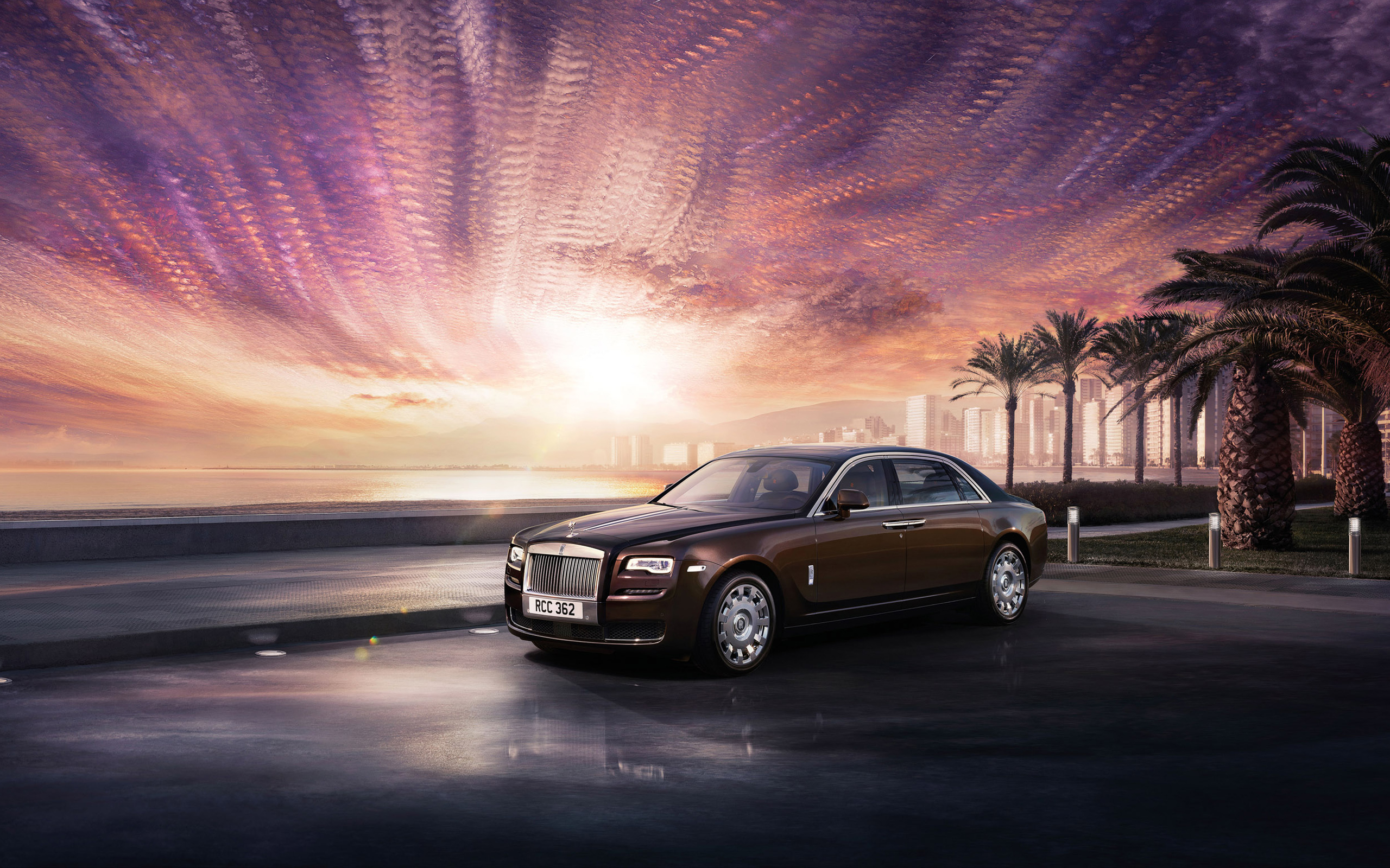 2015 Rolls Royce Ghost Series II Wallpaper HD Car Wallpapers 2560x1600