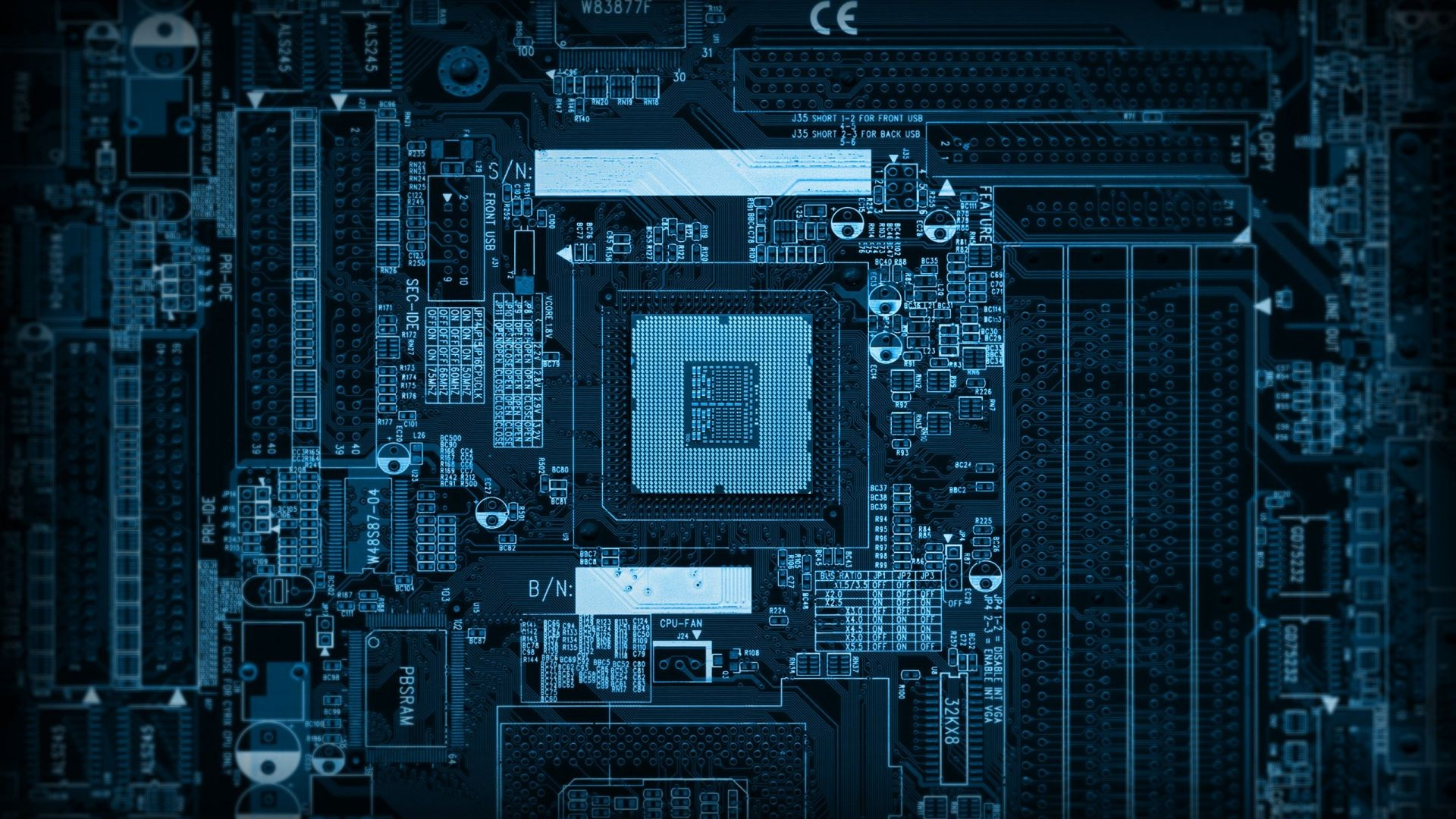 Technology Pcb Wallpaper 1920x1080 Technology Pcb Motherboard 1920x1080
